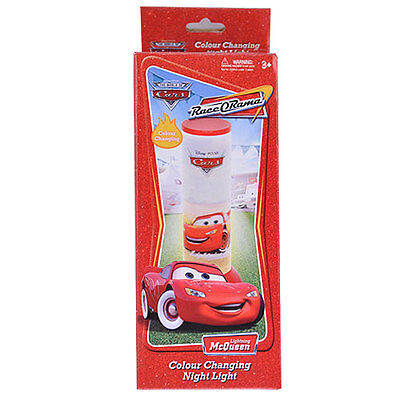 Disney Cars Colour Changing Night Light Brand New In Box