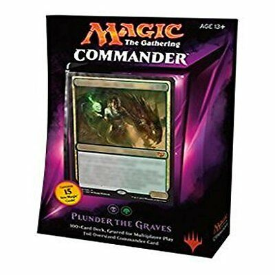 Magic The Gathering: 2015 Commander Plunder the Graves Black Green Deck