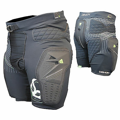 DEMON Shield Padded Snowboard Shorts / Hip & Coccyx Impact Protection