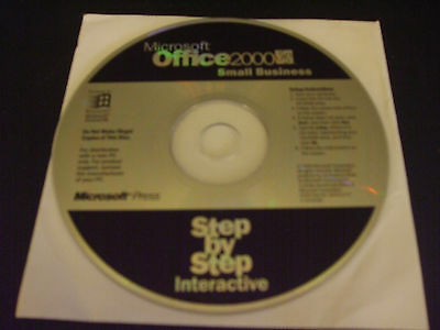 Microsoft Office 2000 Small Business Step by Step Interactive (CD, 1999)