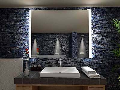 beau miroir salle de bain lumineux led sur mesure eur 75. Black Bedroom Furniture Sets. Home Design Ideas