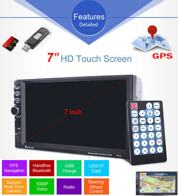 """4.1"""" Android 1DIN Autoradio Stereo Bluetooth MP5 Player FM AUX Remote+170°Camera"""