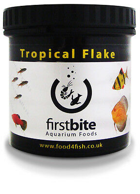 Tropical Flake 200G First Bite Mangime Acquario Dolce Tropicale Bcuk Aquatics
