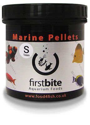Marine Pellets S 120G First Bite Mangime In Granuli Acquario Marino Reef Bcuk