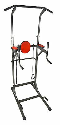 Pull-Up Station Power Tower VKR Sturdy Chin-Up Bar Stand Dip Station New In Box