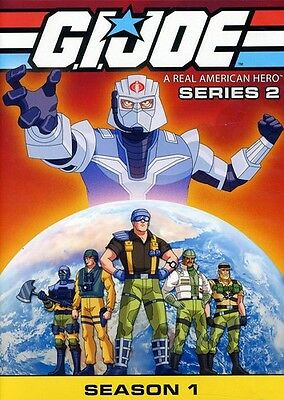 G.I. Joe: A Real American Hero - Series 2, Season 1 [4  (2012, REGION 1 DVD New)