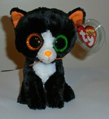 "Ty Beanie Boos ~ FRIGHTS the 6"" Cat ~ MINT with MINT TAGS ~ 2015 NEW ~ IN HAND"