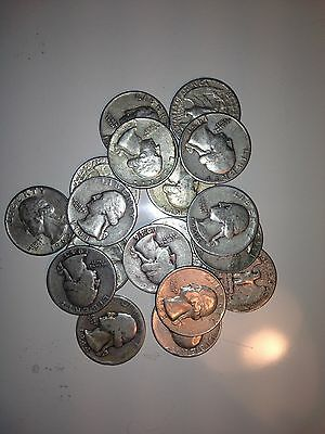THE QUARTERS DEAL! All 90% US Junk Silver Coins $2.25 FACE  2 OZ. Pre-1965 1