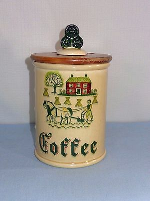 Metlox Poppytrail China Coffee Canister California Provincial