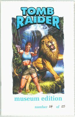 Tomb Raider Greatest Treasure Of All Museum Edition Jay Company Coa Ltd 25 Rare