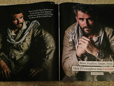 Levison Wood Photo Interview Uk Times Magazine January 2016