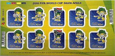 RSA SÜDAFRIKA SOUTH AFRICA 2010 FB 1939-43 Soccer World Cup Fußball WM Football