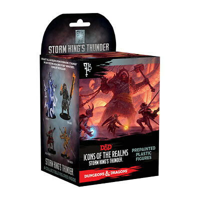 D&D Dungeons&Dragons Miniatures Set 5: Storm King´s Thunder Booster Pack