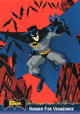 Batman Animated & Master series trading card promos [2 trading cards]