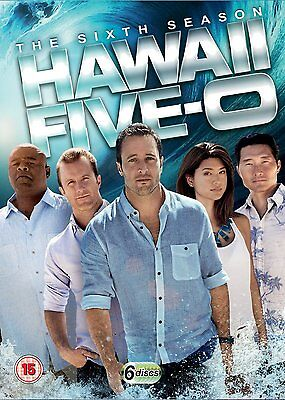 HAWAII FIVE O Series 6 SEALED/NEW dvds (5 0) 6th season six 5053083089290