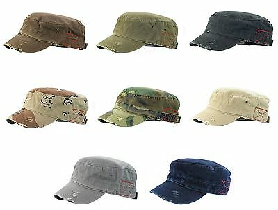 BDU Inspired Low Profile Short Bill Adjustable Cap Hat, fidel, military, cadet