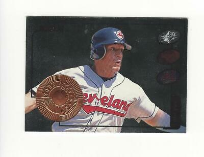 1998 SPx Finite #18 Brian Giles Indians /5000