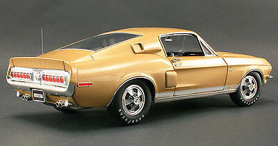 1968 Shelby Ford Mustang Gt350 Acme 1:18 Only 402 Made Sunlit Poly Gold Paris