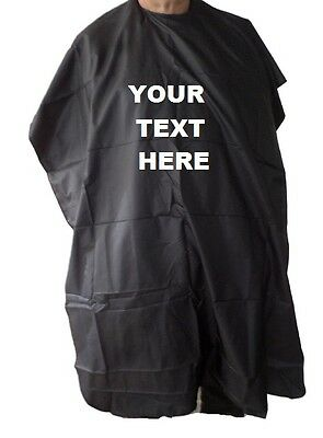 Personalised Hairdressing Gown Hairdresser Salon Cutting Cape Barbershop Mobile