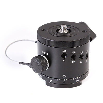 Pro DH-55D Panoramic Panorama Indexing Rotator Ball Head For Tripod DSLR Camera