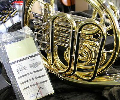 Jupiter Model 1150L Professional Double French Horn Display model  Save $2000
