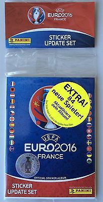 Panini UEFA Euro 2016 Sticker Update Set - Complete your collection NEW