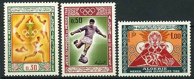 16-07-00273 - Algeria 1968 Mi.  506-508 MNH 100% Summer Olympic Games Mexico