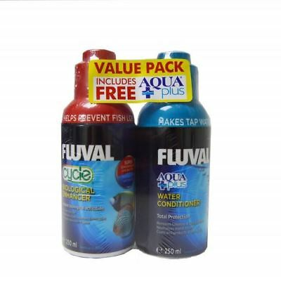 Fluval Cycle Aquarium Bio Booster & Free Aquaplus Water Conditioner 250ml