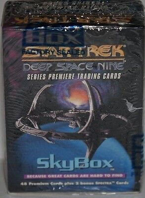 Skybox Star Trek Deep Space Nine 48 trading cards + 2 Spectra Cards Sealed!