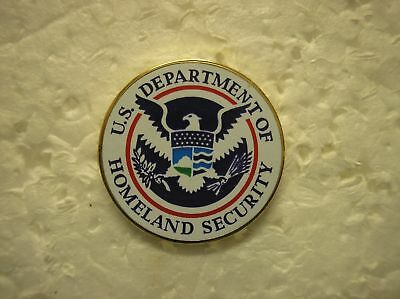 United States Department Of Homeland Security Hat Pin