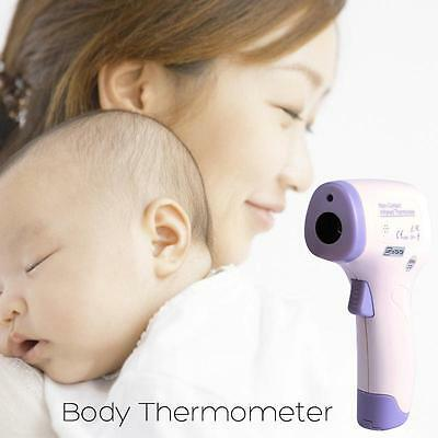 Digital Non-contact No Touch Infrared IR Forehead Thermometer For Baby Kid Adult