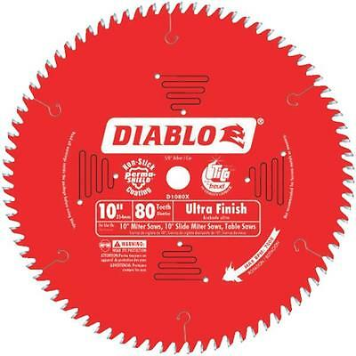 "Freud 10"" 80T Diablo Carbide Tipped Saw Blade D1080X"
