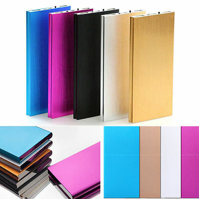 20000mAh Ultrathin Portable External Battery Charger Power Bank for Phones UF