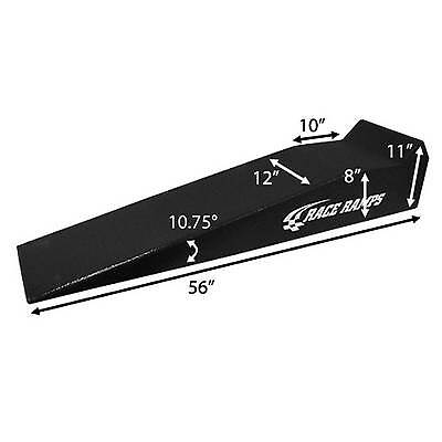 "Race Ramps Pair Of 56"" Single Piece Race Vehicle Service Ramps - RR-56"
