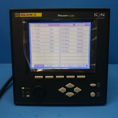 Square D Schneider Electric ION7550RTU ION PowerLogic Meter ION7550 RTU
