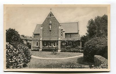 Hendon - Our Lady of Dolours Roman Catholic Church - old Middlesex postcard
