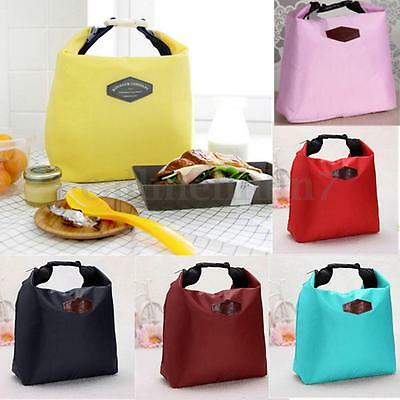 UK Thermal Small Portable Insulated Cooler Lunch Picnic Storage Bag Carry Tote