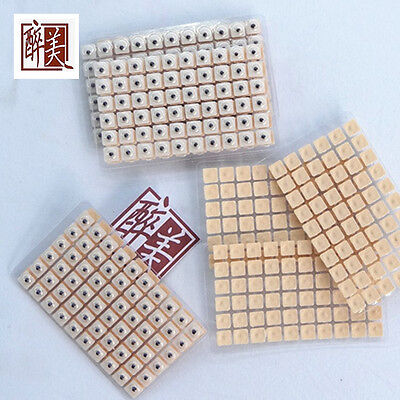 600pcs Magnetic therapy ear patch Auriculotherapy Acupuncture Seeds paste Cool