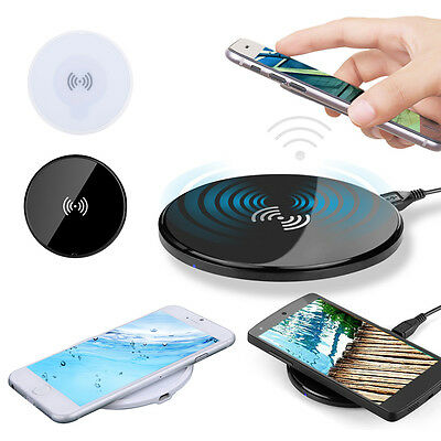 Ultra-thin Qi Wireless Charger Charging Pad For Google Nexus 6/5/4 for HTC
