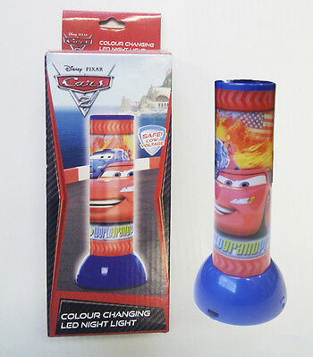 Disney Cars 2 Colour Changing Night Light Brand New In Box