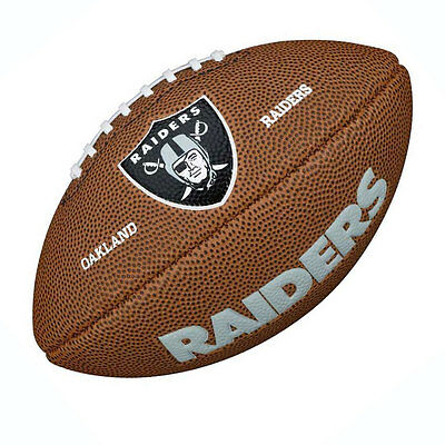 WILSON Oakland Raiders NFL mini american football