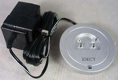 iDECT X1 / X1i Silver Spare Replacement Additional Handset Charging Base Part
