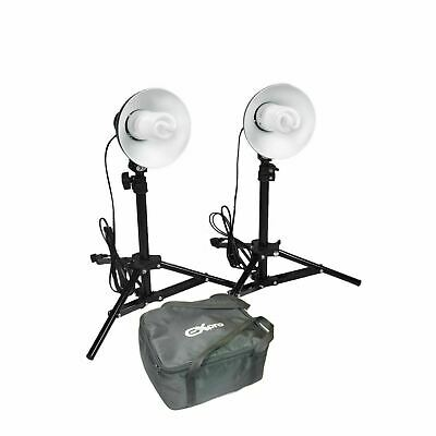 Ex-Pro 100w Photographic Photo Studio Continuous Light Kit Lighting for Tents