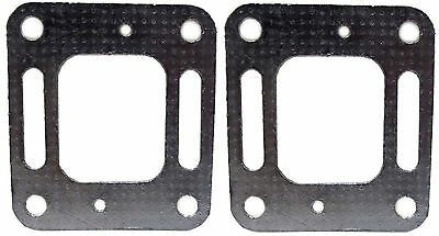 (2) MerCruiser Exhaust Elbow Riser Restrictor Gaskets, Replaces 27-863724