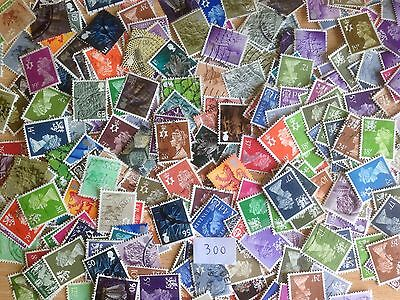 300 Different Great Britain Regionals Stamp Collection
