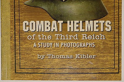 German Combat Helmets of the Third Reich Study in Photographs Reference Book