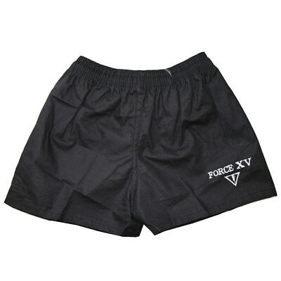 FORCE XV value rugby shorts [black]