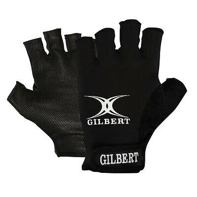 GILBERT synergie rugby glove [Black]
