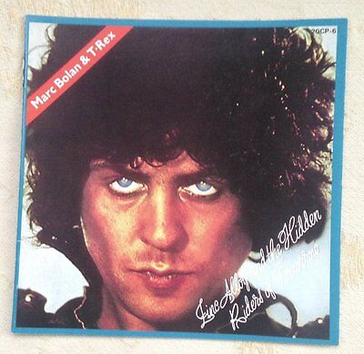 Marc Bolan & T.Rex Japanese CD Booklet   Zinc Alloy  20CP-6