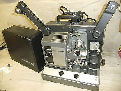 Cine film projector BELL & HOWEL FILMSOUND 641 16mm + lead